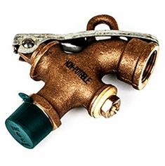 Female Thread Outlet Solid Brass Drum Faucet NPT  Inlet | 3/4 inch