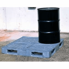 Flat Deck pallet only  48 x 48 x 6 3/4 For SpillKing Spill Containment System