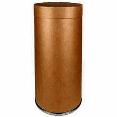 Fluorescent Light Recycling Corrugated Cardboard Tube Drums | 4 Foot |  4 Pk