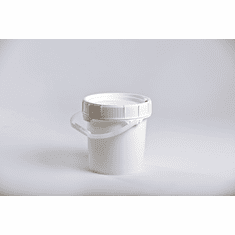 Food Grade Buckets. Life Latch 1.25 Gallon Screw Top -6 Pack