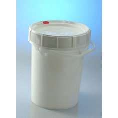 Food Grade Buckets. Life Latch 5 Gallon Screw Top-3 Pack