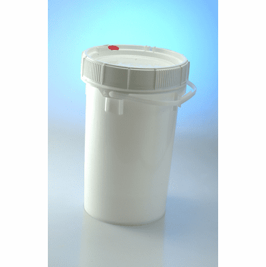 Food Grade Buckets. Life Latch 6.5 Gallon Screw Top-3 Pack