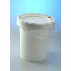 Food Grade Buckets. Life Latch .60 Gallon Screw Top -12 Pack