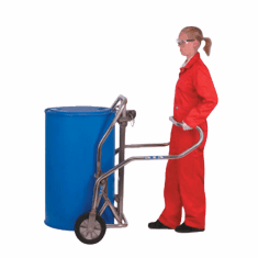 Food Grade - Stainless Steel Drum Transporter