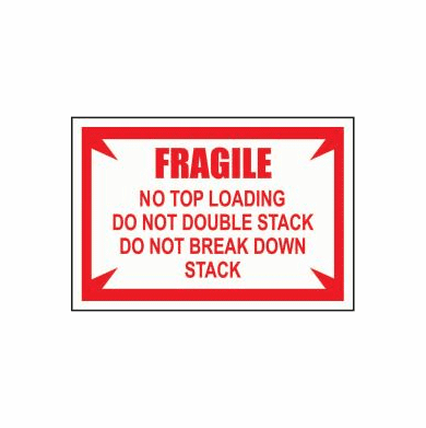 fragile no top load 3 1 2 x 5 1 2 500 pack