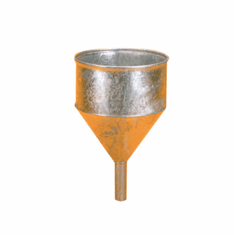 Galvanized Speed Funnel
