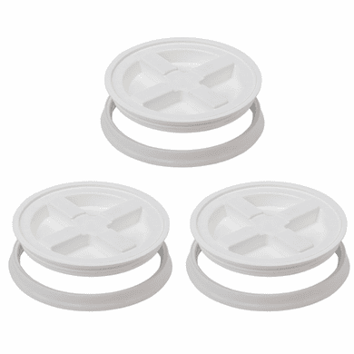 Gamma Seal Lid -5 Gallon White - 3 Pack