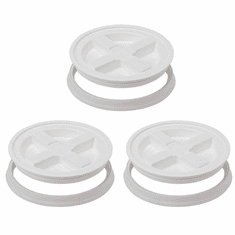 Gamma Seal Lid 5 Gallon White - 3 Pack