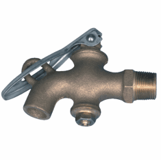 GHT Male Solid Brass Drum Faucet