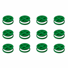 "Green Gamma Seals -12 Pack<br><b><font color=""green""><font size = 3> FREE SHIPPING</font color></b></font>"