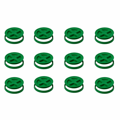"Green Gamma Seals -12 Pack<br><font color=""green""> FREE SHIPPING</font color>"