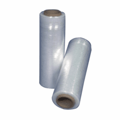 "Hand Wrap 80 Gauge For loads 2,500 lbs Cast Stretch Film 12"" 4 Rolls"