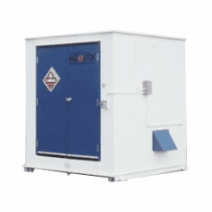 HAZ-STOR Outdoor Flammable Storage Safety Buildings 75 Drum