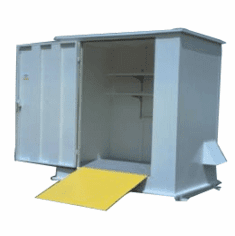 Haz-Stor Outdoor Safety Storage Cabinets Holds 4 - 55 gallon Drums