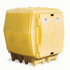 Hazard Hut For Outdoor Storage of Hazardous Materials