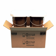Hazmat UN 4G Packaging Foam Gallon Plastic Paint Cans 2-1 Gallon