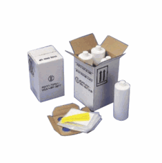 Hazmat Un 4G Packaging Kit with HDPE Quart Cylinder Bottles