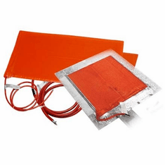"""Heavy-Duty Silicone Rubber Heating Blankets (SRL/SRP) <br><font color=""""#008000"""" >Free Shipping</font>"""