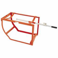 "High Capacity Drum Cradle, 18 3/4"" Drain Height, No Wheels"