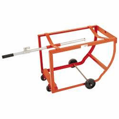 "High Capacity Drum Cradle, Two - 5"" Rubber"