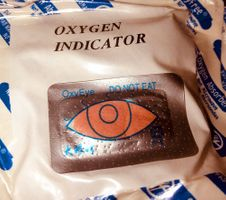 How to meaure the Voume of Oxygen Absorbers