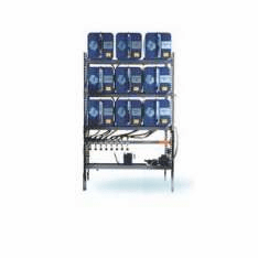 IFH Oil Storage and Dispensing Systems 3x3 Nine Containers