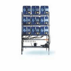 IFH Oil Storage and Dispensing Systems 3x3 Nine Containers | 18 gauge steel tanks with 16 gauge heads