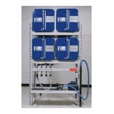 IFH Oil Storage & Dispensing Systems 2x2 Four Containers | 18 gauge steel tanks with 16 gauge heads