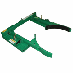 Jaws Style Drum Grabber, Unlined Jaws,For Plastic Drums