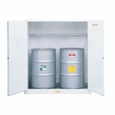 Justrite Flammable Waste Safety Cabinets for Drums and Cans