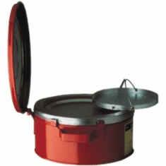Justrite Safety Bench Cans 1 gallon