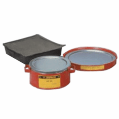 Justrite Safety Drip Can/Spill Tray