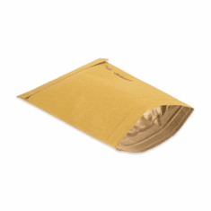 "Kraft Padded Mailers, 4"" x 8"",Bag No.000,500 Case Count"