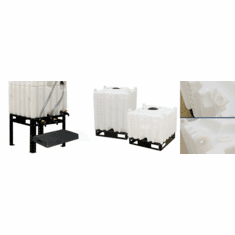 Leg Kit for Tote Skid Stackable Totes