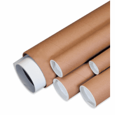 Mailing Tubes-Collection Cans-Screw Cap Mailers