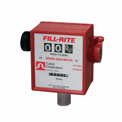 Mechanical Flowmeter for Most Rotary and Piston Pumps - 3/4 NPT