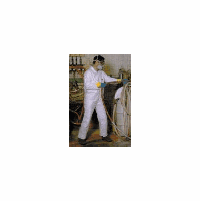 Medium Tyvek Protective Safety Coveralls
