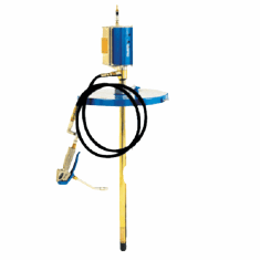 Mobile Heavy Duty Grease Pump-55 gallon-No Trolley
