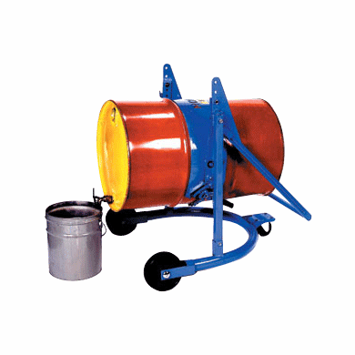 MORSE Mobile Drum Karrier, 55 gallon steel, accepts all adapters