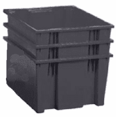 Nest & Stack Containers 1.70 Cu Ft 3 Pack