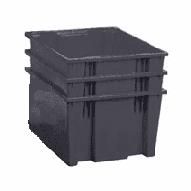 Nest & Stack Containers 2.00 Cu Ft 3 Pack