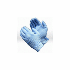 Nitrile Disposable Powdered Gloves Medium 100 Pack/50 Pair