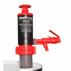 Nitrile Seal Hand Or Air Operated Goat Throat Pumps