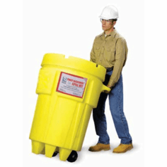 OilSorb Plus 95 Gallon Spill Response Kits with WHEELS