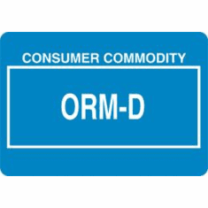 ORM-D, Consumer Commodity