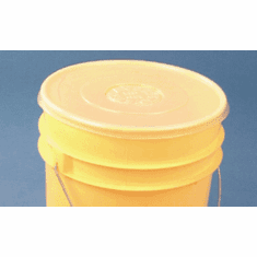 Pail Saver� Polyethylene 5 Gallon Cover | For 5 Gallon Bucket or Pail - 6 Pack