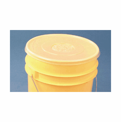Pail Saver™ Polyethylene 5 Gallon Cover | For 5 Gallon Bucket or Pail - 6 Pack