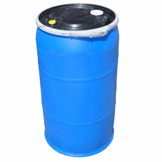 PLASTIC DRUM 35 GALLON OPEN-TOP Discontinued