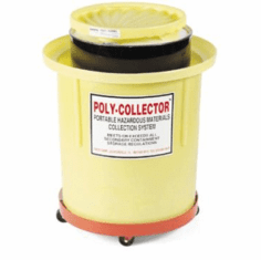 Plastic Movable Hazmat Waste Collection  110 Gallon
