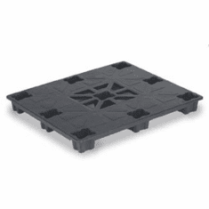 Plastic Pallets at the price of wood   48 x 40 x 6 Plastic Pallet, 4 pack